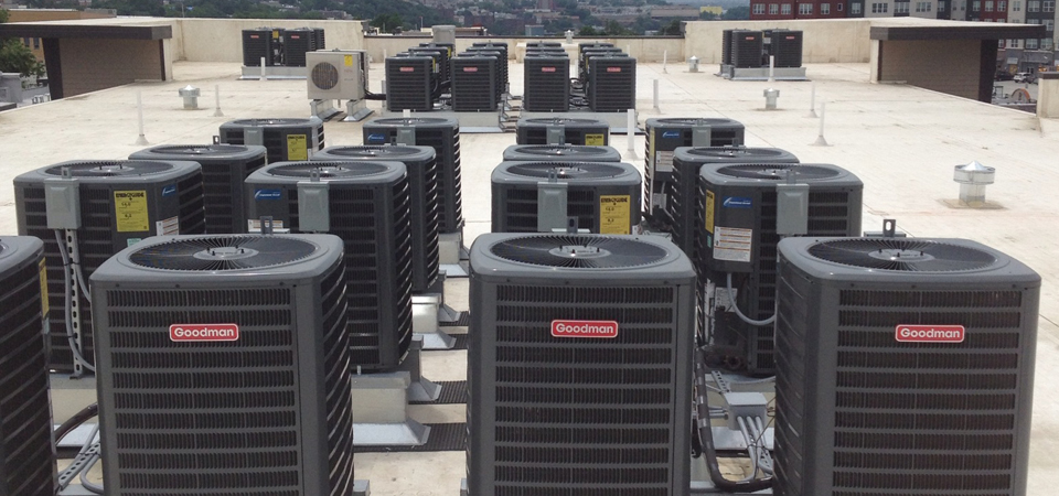 Roof Top HVAC Installations